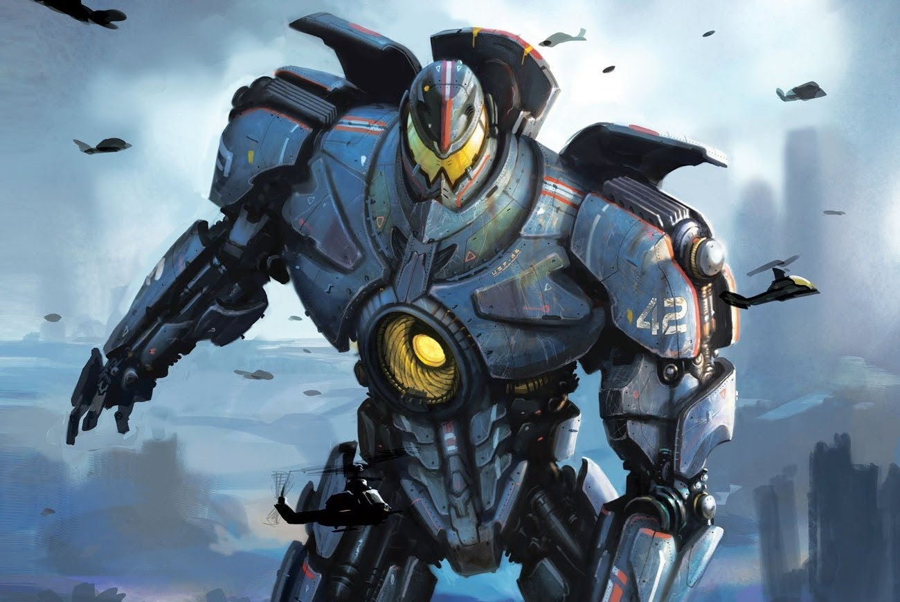 "John Boyega Shares First Visual Of Gipsy Danger Jaeger For Upcoming ""Pacific Rim: Uprising"" Film."