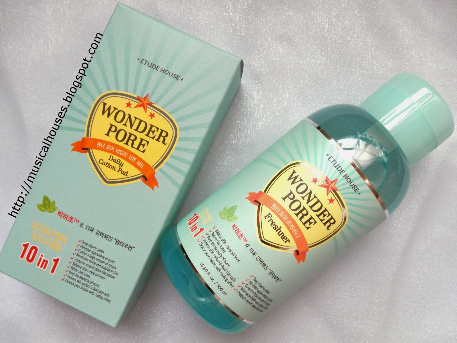 Etude House Wonder Pore Freshner Review And Ingredients Analysis