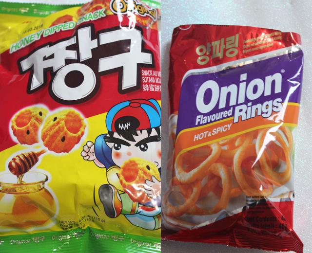 Experimentando salgadinhos asiáticos (coreanos, japoneses e Taiwan)