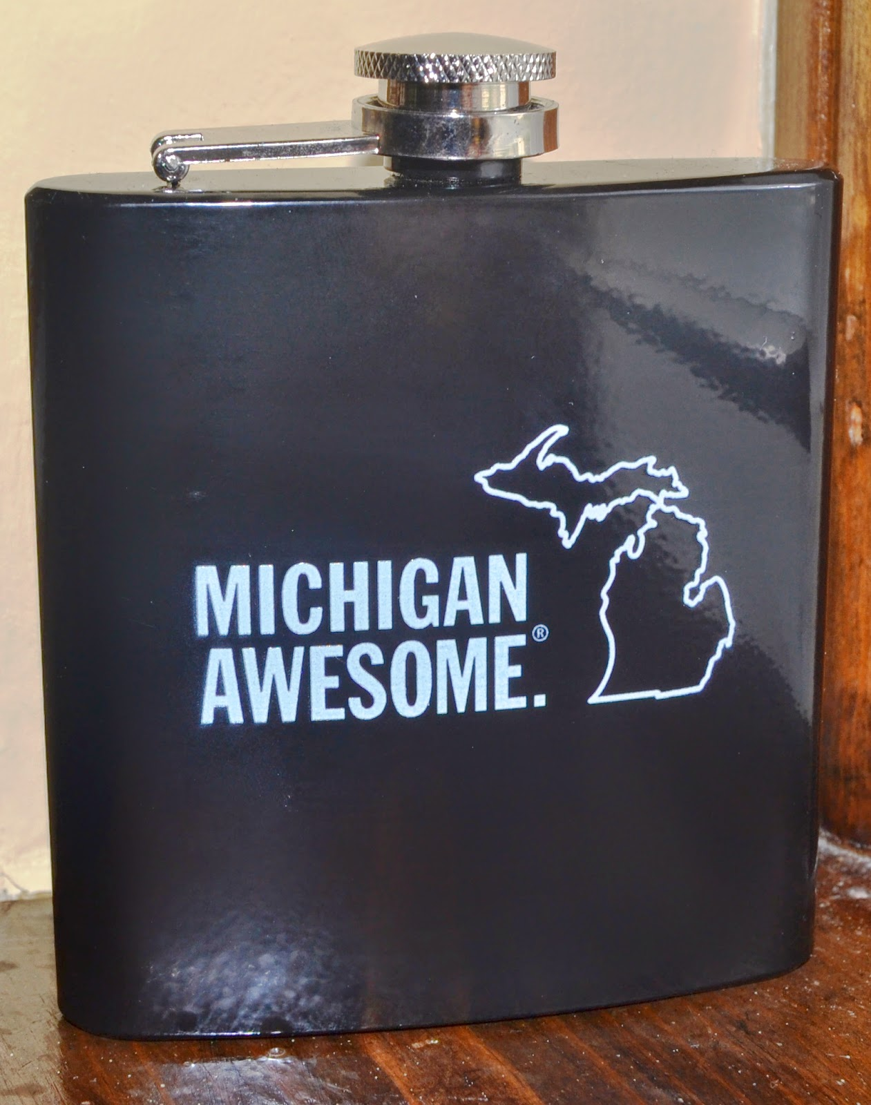 Michigan Awesome Flask