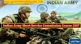 Indian Army Recruitment 2017 for SSC Technical Male and Female,