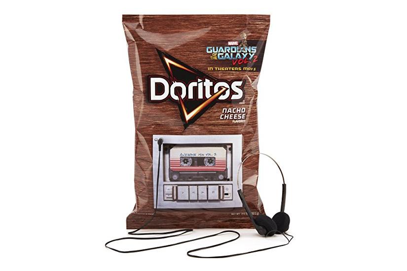 Doritos soundtrack de Guardianes de la Galaxia 2