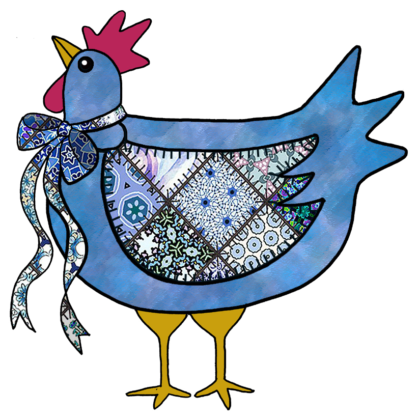 ArtbyJean - Paper Crafts: COUNTRY CHICKEN, CHOOKS - Set ...