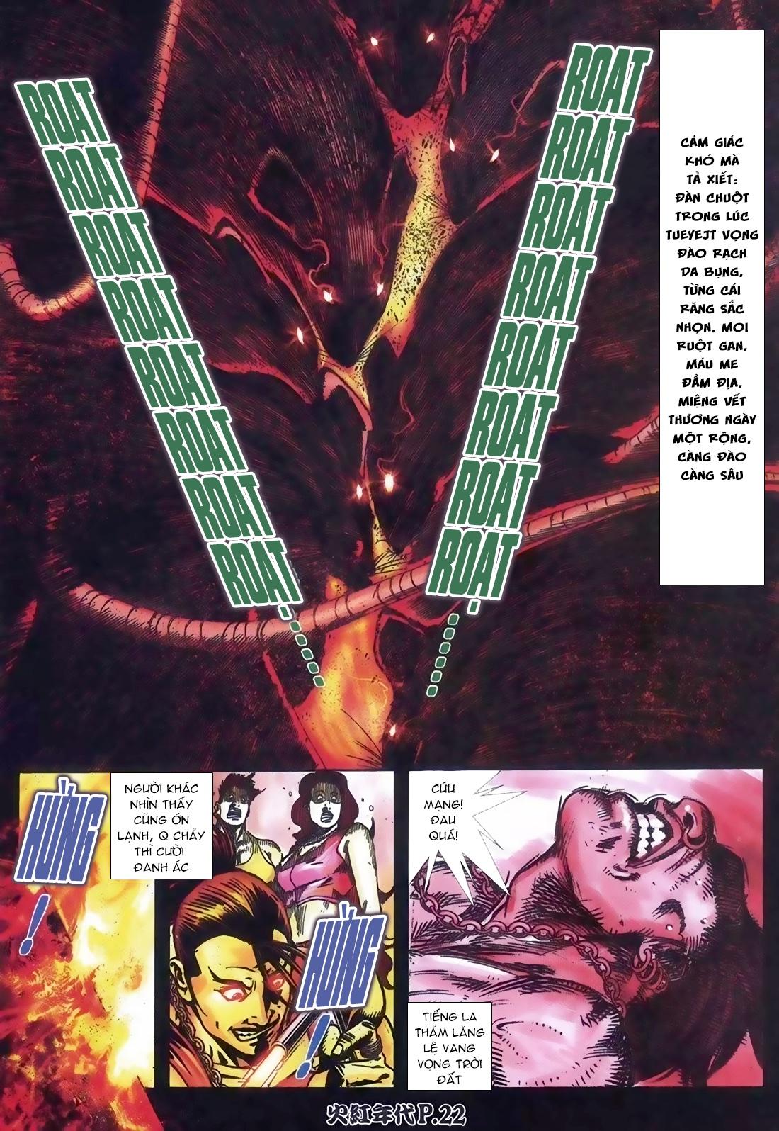 Hỏa Hồng Niên Đại Hắc Cốt Đường Chap 111 - Trang 17