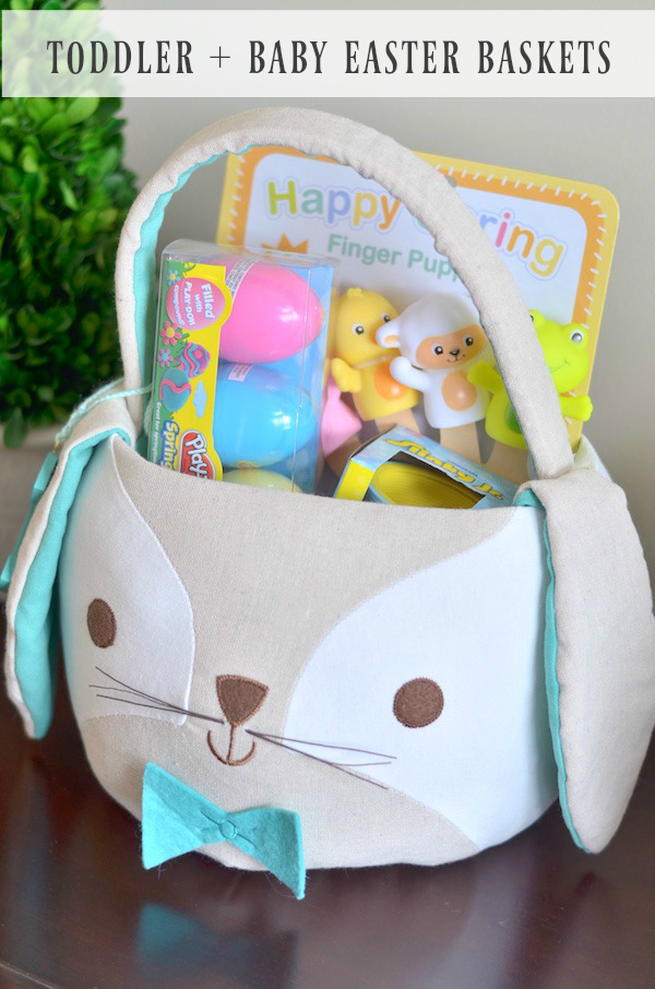 Toddler + Baby Easter Baskets