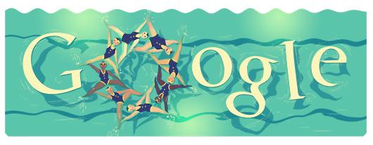 Isola Ideale Doodle Olimpiadi Di Londra 2012 Nuoto