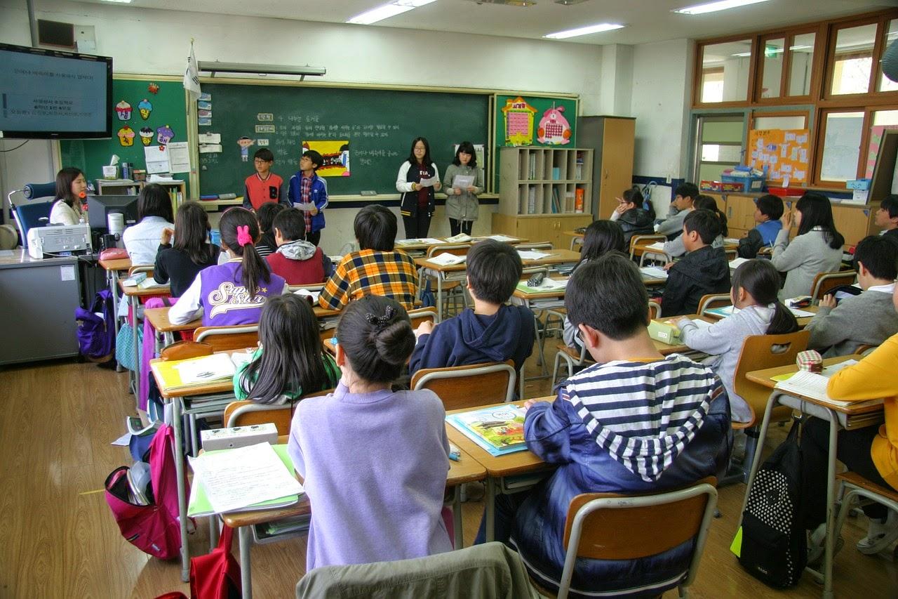 niños escuela clase