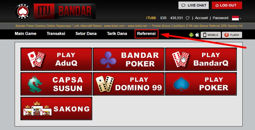 Tips Cara Membuat Id Referral Situs Poker Online