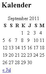 Cara Pasang Kalender di WordPress