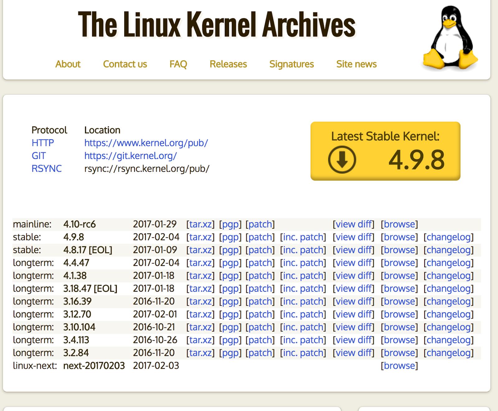 Compiling Linux Kernel (on Ubuntu) - Kali Linux Hacking Tutorials