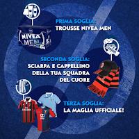 Logo Concorso Nivea men Klick off League summer edition vinci gadget