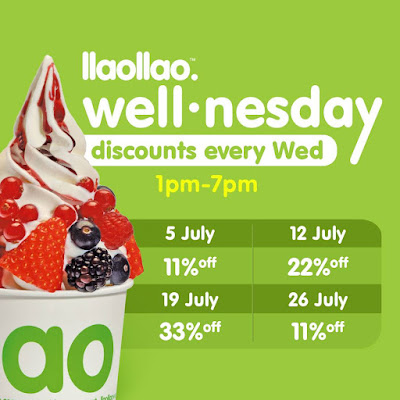 llaollao Malaysia Discount Offer Wednesday Promo