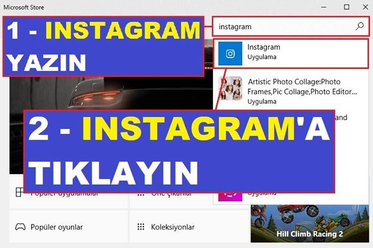 Bilgisayardan Instagram DM Atma