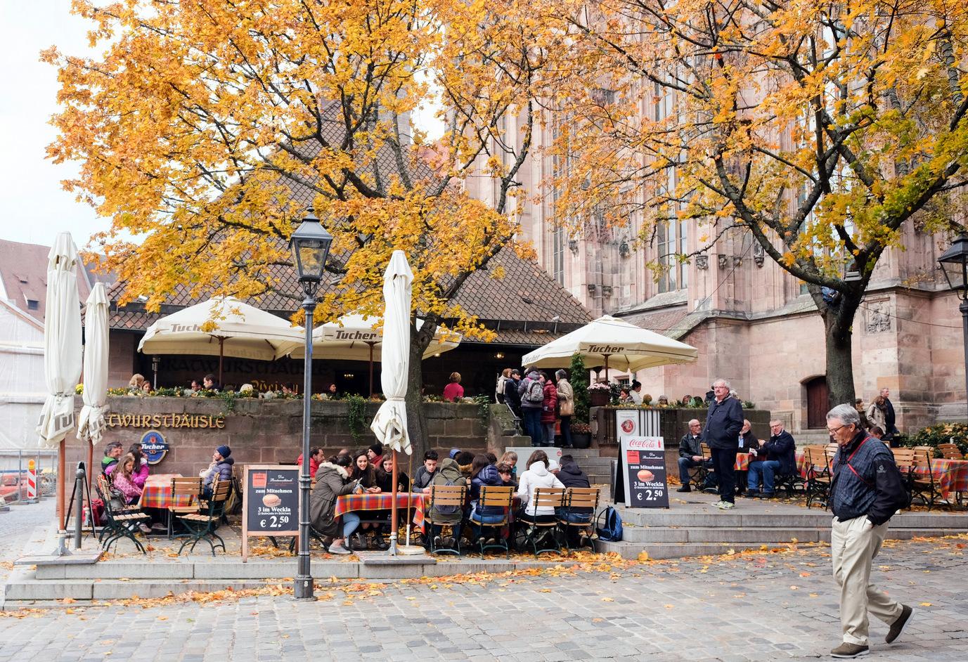 Rostbratwurst & Lebkuchen, Nuremberg, Germany