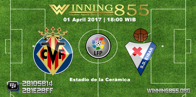 Prediksi Skor Villarreal vs Eibar 01 April 2017
