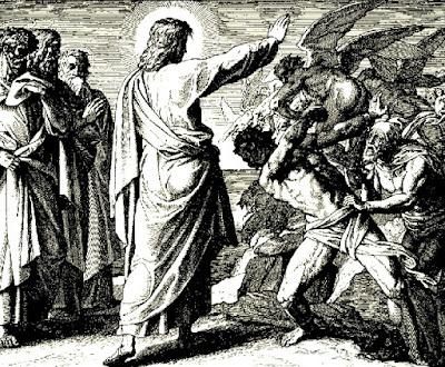 - Prière pour guérir son arbre généalogique Jesus-chassant-un-demon