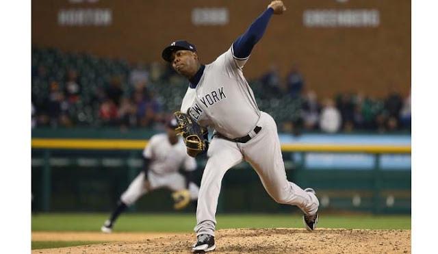 El lanzallamas cubano, cerrador de los Yankees, tiene 225 rescates en su carrera de Grandes Ligas.
