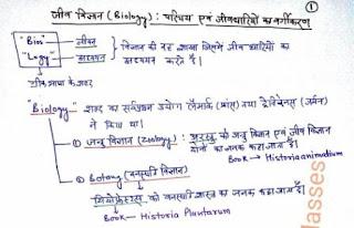 General Science Handwritten Notes