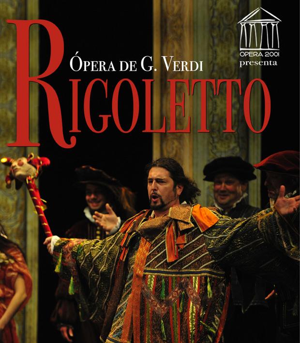 Opera Rigoletto van Verdi in het auditori Moraira Teulada