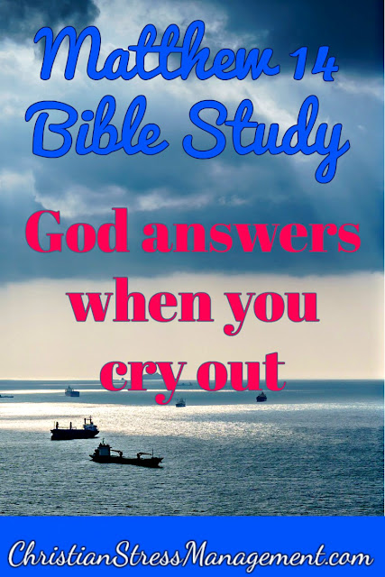 Matthew 14 Bible Study: God answers when you cry out