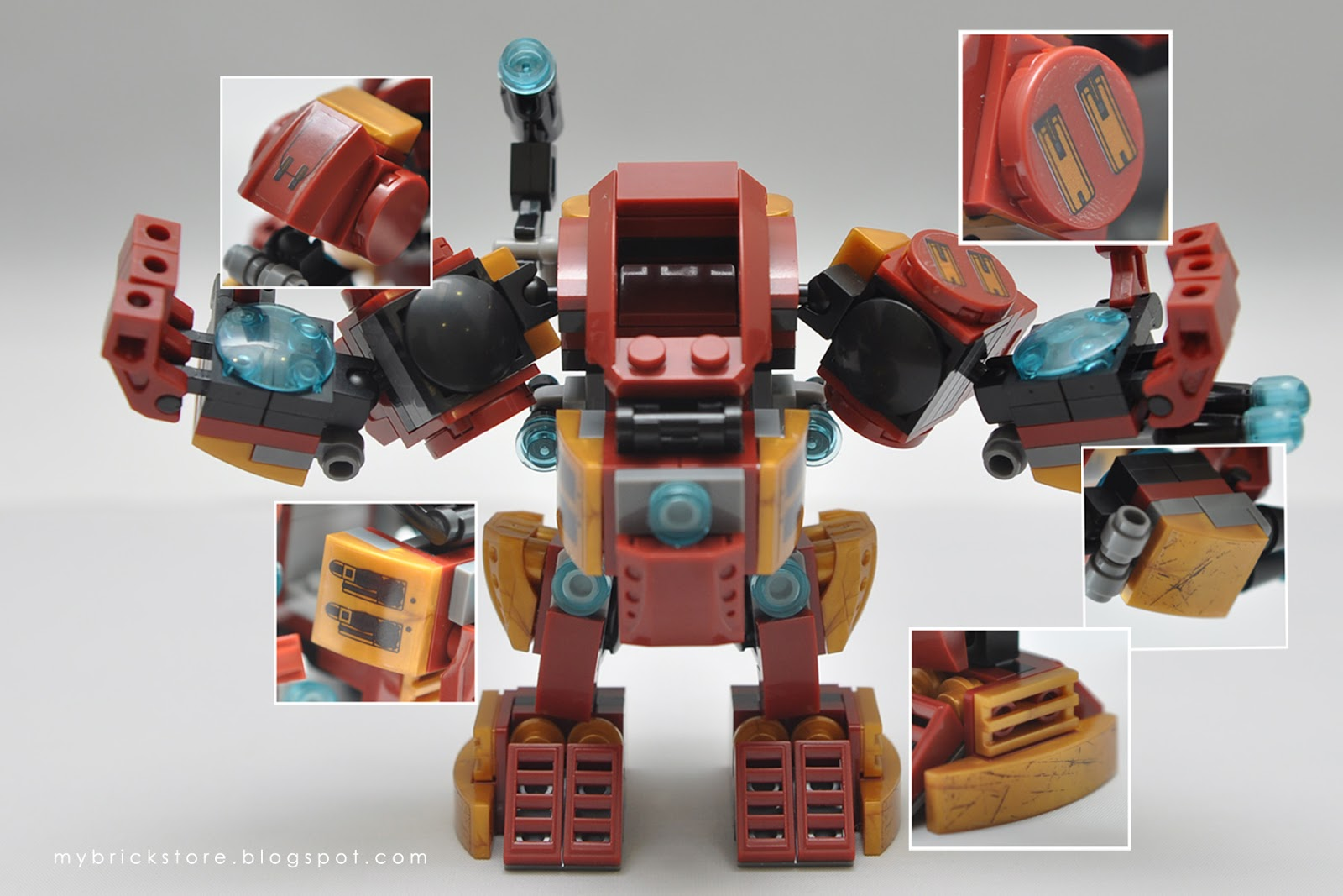 My Brick Store: Sheng Yuan SY360A Iron Man Mecha Hulkbuster