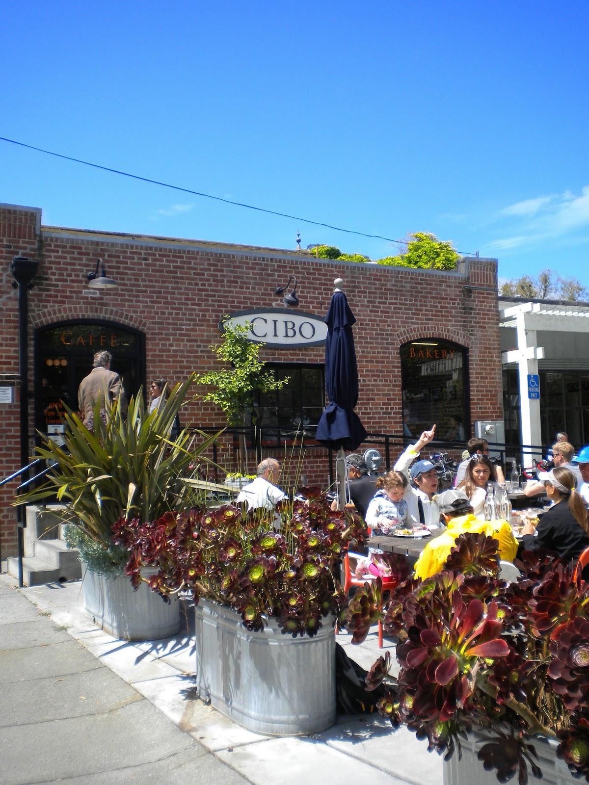 cafe cibo kahvila sausalito california san francisco matkailu matkajuttu mallaspulla