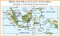 3 Macam Pembagian Zona Waktu di Indonesia dan Penjelasannya