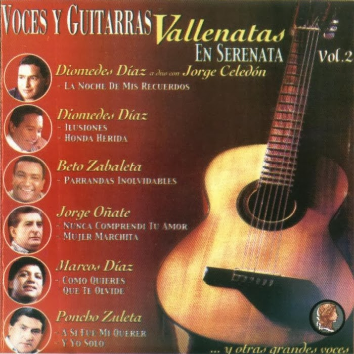voces y guitarras vallenatas vol 2