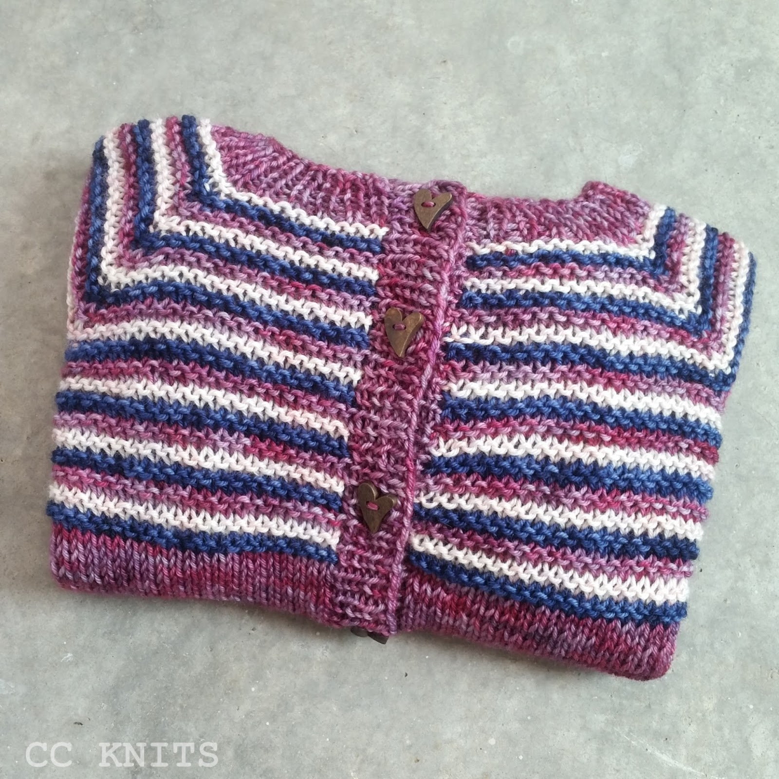 Cc Knits New Pattern Sporty Cardigan For Boys And Girls