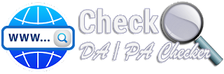 Berikut ini adalah alat untuk mengecek skor DA (Domain Authority) dan PA (Page Puthority) dengan menggunakan Moz Rank Checker.