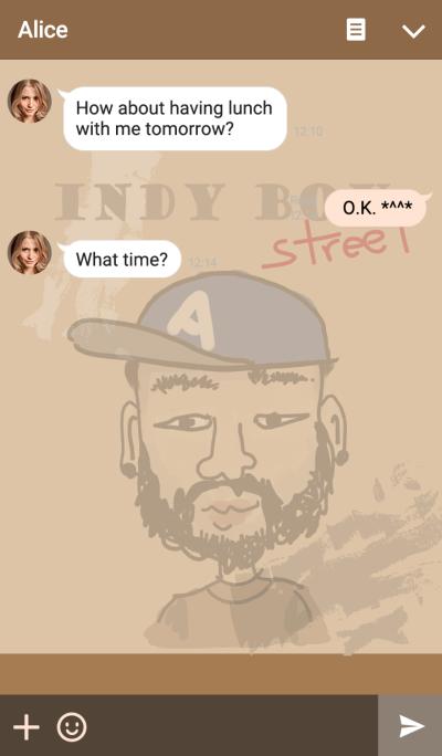 Indy Boy (brown)