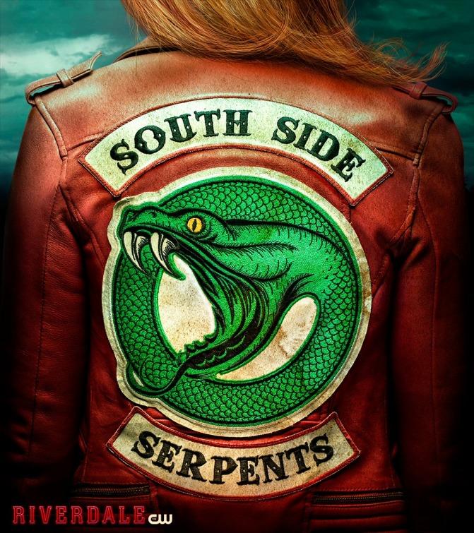 AFTER YOU GO Chaqueta Riverdale Chaqueta de Serpiente para ni/ñas Chaqueta de Cuero Negra Chaqueta Motera