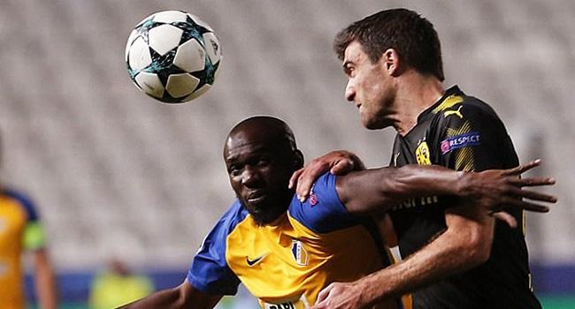 cuplikan gol borussia dortmund vs apoel 1-1