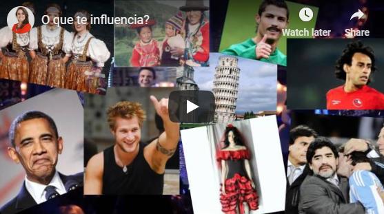 O que te influencia?