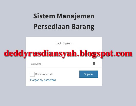 Persediaan Barang metode Safety Stock dan Reorder Point
