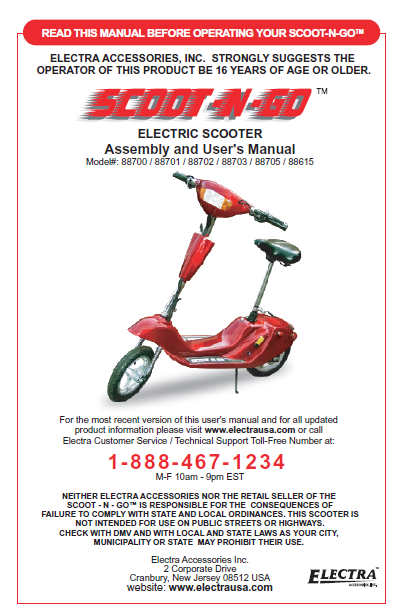 Electra Scooter on Go Kart Wiring Diagram