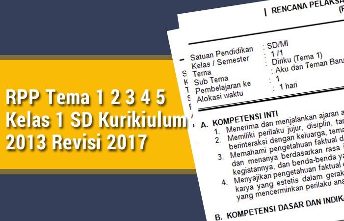 Rpp K 13 Revisi 2017 Tema 5 Kelas 2