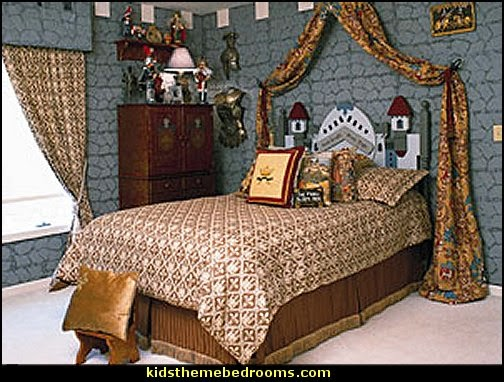 boys medieval bedroom decor