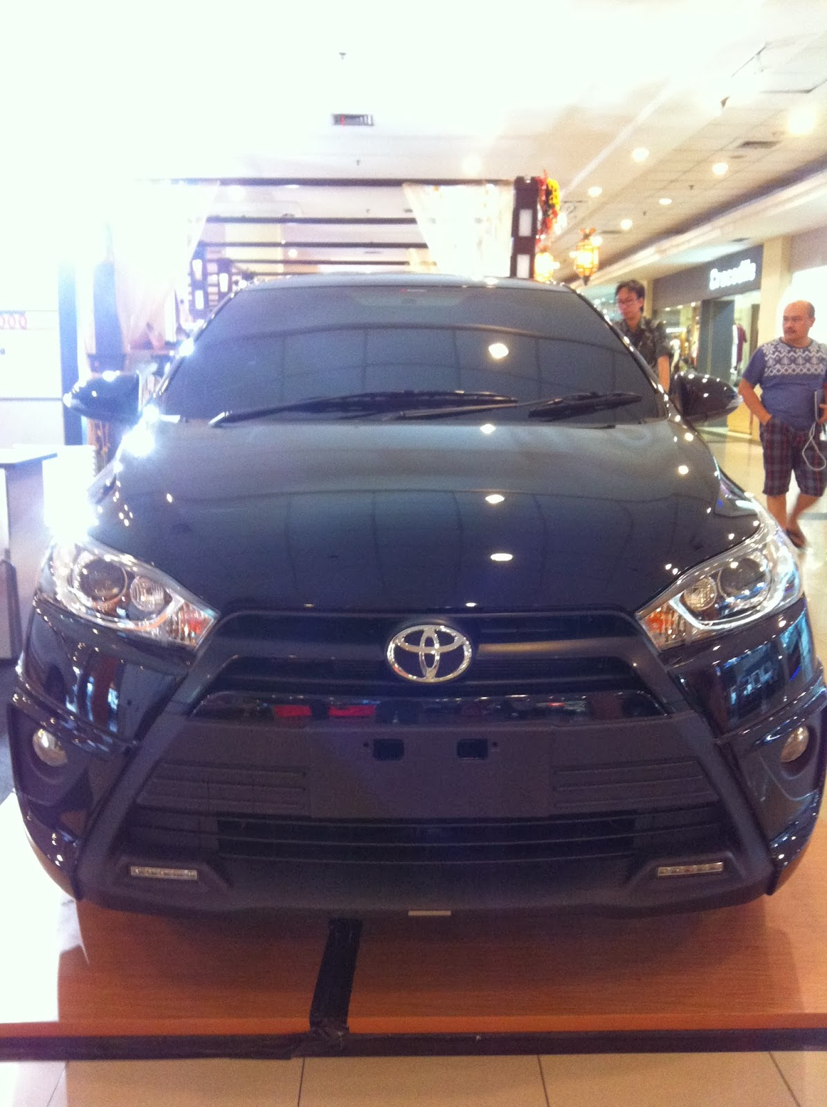 ukuran velg all new yaris trd cvt first impression toyota 2014 andra