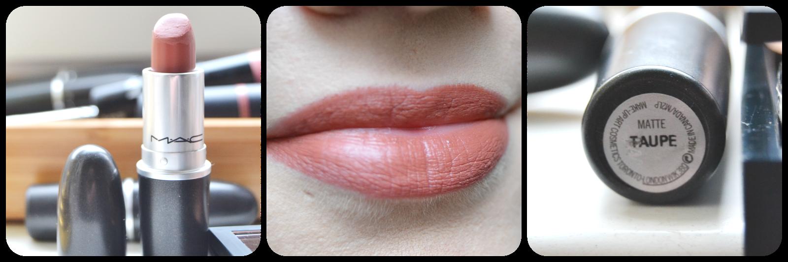 Mac, Cosmetics, Lipstick, Lippenstift, Swatch, Taupe, Swatches, Lipswatch, Matte