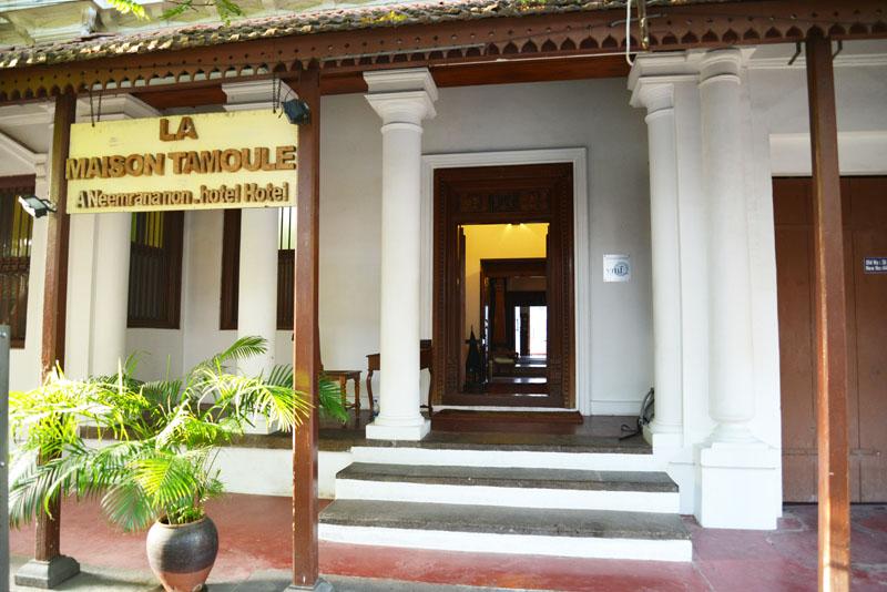 Design et Bandouliere: La Maison Tamoule, Pondichéry