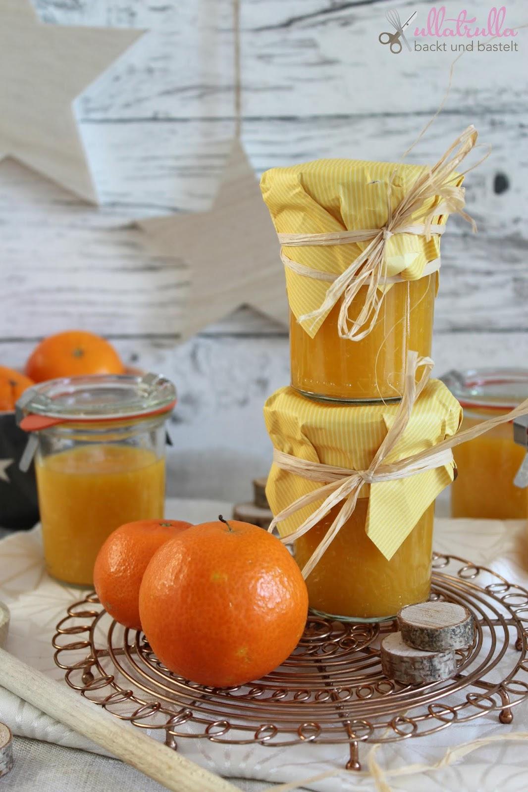 ullatrulla backt und bastelt: Mandarinenmarmelade: ein perfektes ...