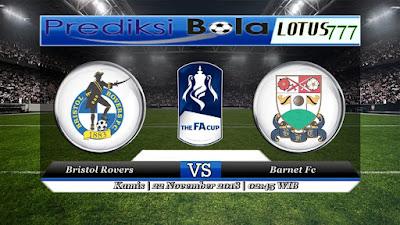 prediksi pertandingan Bristol Rovers vs Barnet 22 November 2018