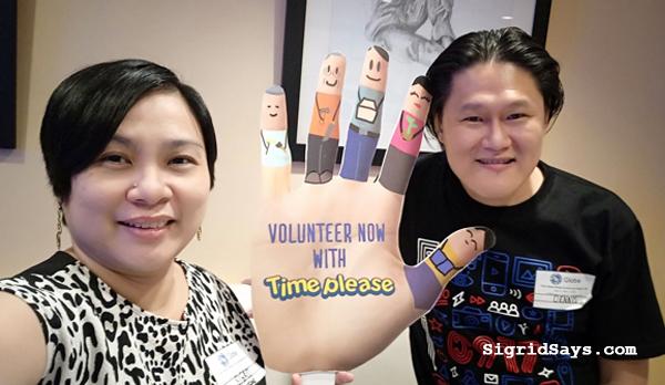 Time Please - Globe Telecom - Disney - free trip - volunteerism