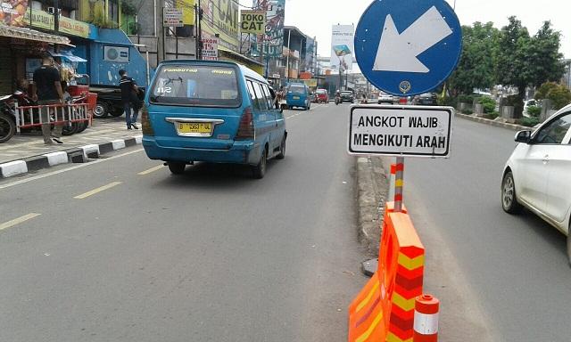Dishub Opimalkan Separator di Sepanjang Jalan Margonda