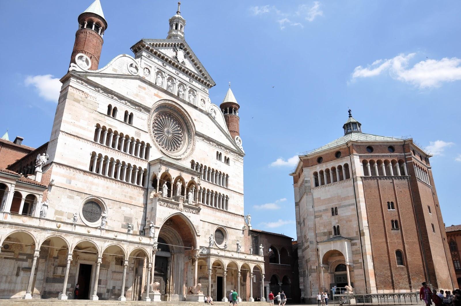 Duomo and Baptistery, Cremona, Italy