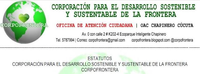 #CF | #CFnoticias: Texto completo de los Estatutos de #CORPOFRONTERA #Chapinero #Cúcuta #NdeS #Colombia