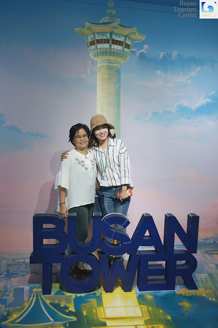 My mother and Beth from Busan Tourism Center
