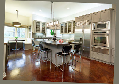 Picture for Amazing Kitchen And Designs Spacious Open for Large Room Shiny Floor