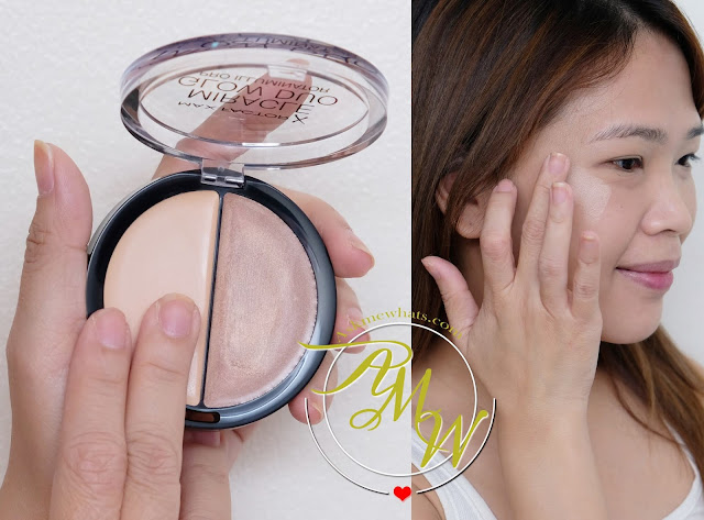 a photo on how to use Max Factor Miracle Glow Duo Pro Illuminator review by Nikki Tiu of www.askmewhats.com
